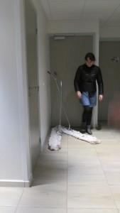 Bérangère Pothier, véliplanchiste