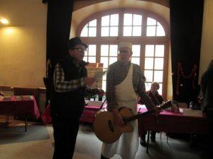 Serge Camaille et Laurent Mathoux, ils écrivent et chantent aussi.