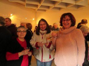Christine Chancel, auteur et présidente de l'Andra, Corinne et Josie Hack